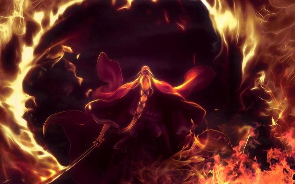 Anime Bleach Genryūsai Shigekuni Yamamoto HD Wallpaper | Background Image