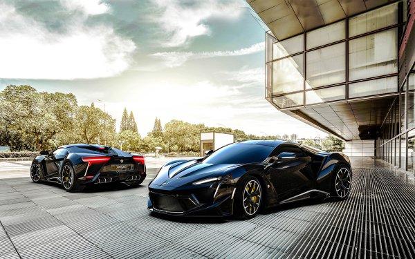 Vehicles Fenyr SuperSport Car Black Car Sport Car HD Wallpaper | Background Image