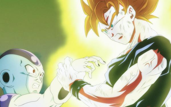 Anime Dragon Ball Goku Frieza HD Wallpaper | Background Image