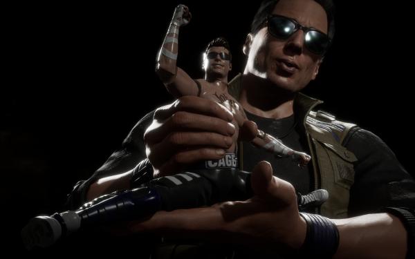 Video Game Mortal Kombat 11 Johnny Cage HD Wallpaper | Background Image