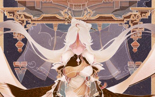 Video Game Genshin Impact Ningguang HD Wallpaper | Background Image