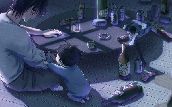 Anime Jujutsu Kaisen Toji Fushiguro Black Hair Megumi Fushiguro HD Wallpaper | Background Image