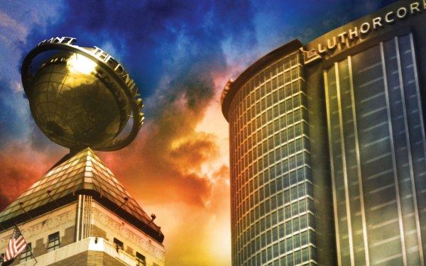 TV Show Smallville Superman Daily Planet Metropolis HD Wallpaper | Background Image