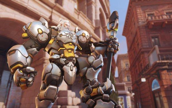 Video Game Overwatch 2 Reinhardt HD Wallpaper   Background Image