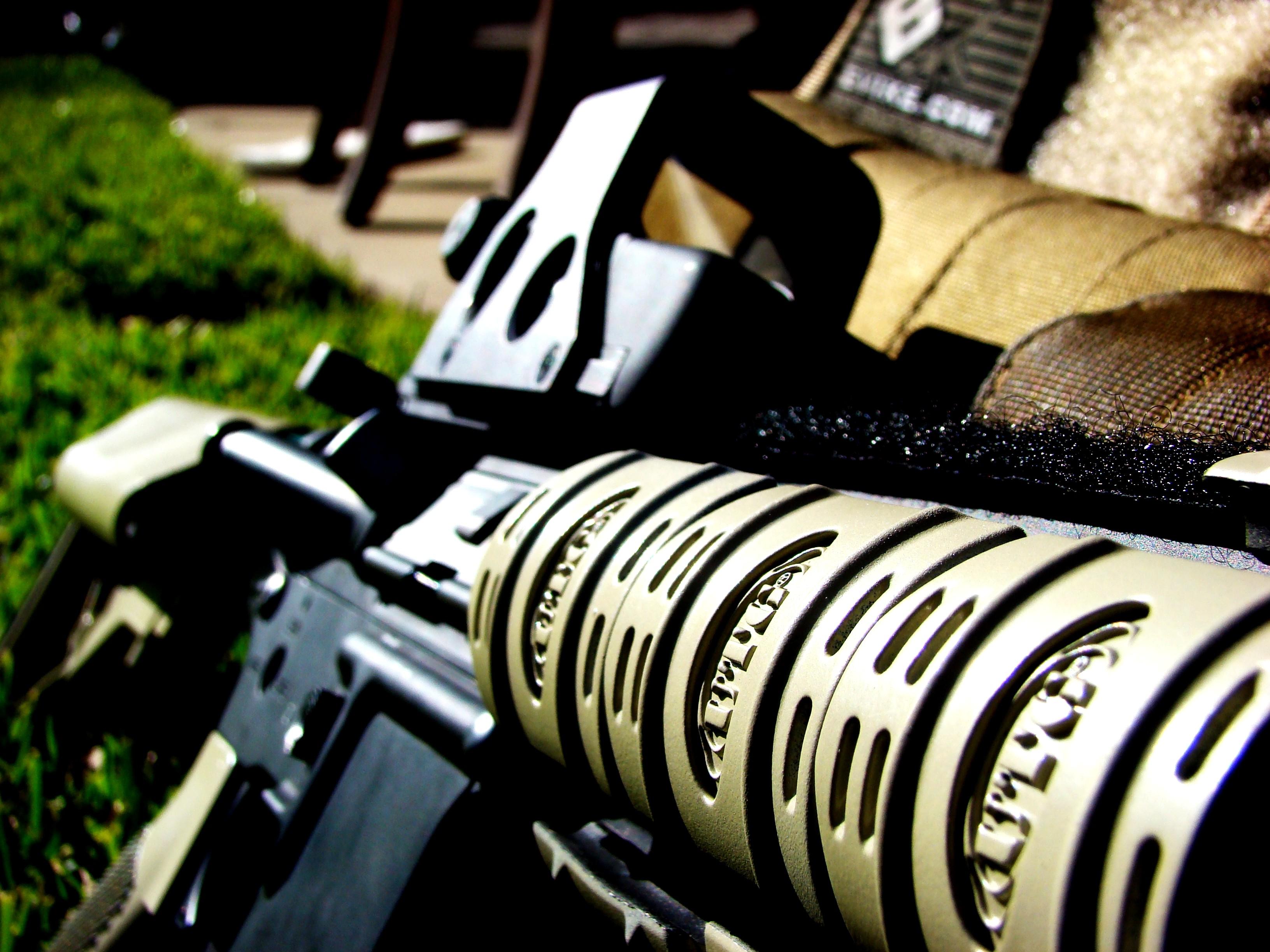 Assault Rifle Hd Wallpaper Background Image 3264x2448 Id