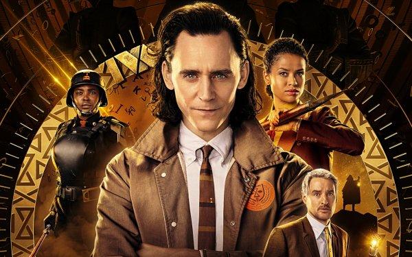 TV Show Loki Tom Hiddleston Owen Wilson Mobius M. Mobius Wunmi Mosaku Hunter B-15 Gugu Mbatha-Raw Ravonna Renslayer HD Wallpaper | Background Image