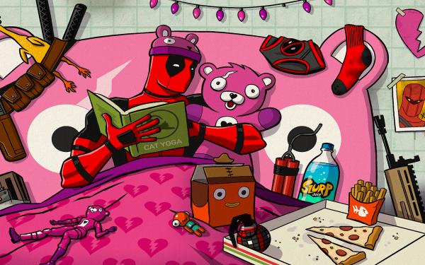 Video Game Fortnite Deadpool Fortnite Loading Screen HD Wallpaper | Background Image