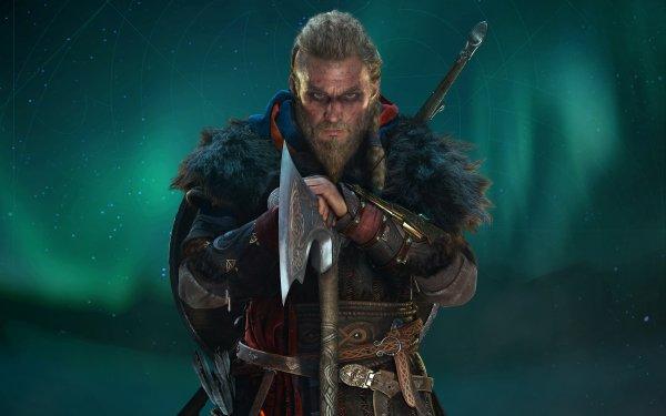 Videojuego Assassin's Creed Valhalla Assassin's Creed Eivor Vikingo Guerrero Fondo de pantalla HD   Fondo de Escritorio