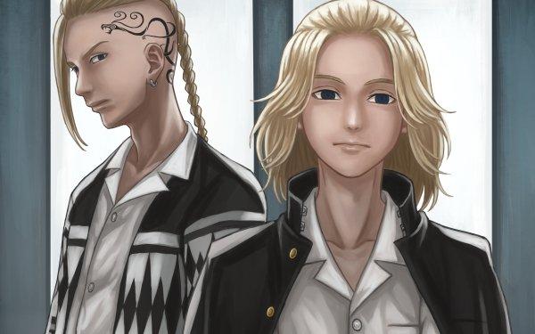 Anime Tokyo Revengers Ken Ryuguji Manjiro Sano HD Wallpaper | Background Image