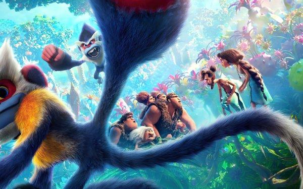 Movie The Croods: A New Age Eep Guy Thunk Grug Sandy Ugga Gran Hope Betterman Phil Betterman HD Wallpaper | Background Image