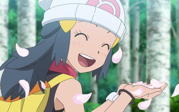 Anime Pokémon Dawn Chica Fondo de pantalla HD | Fondo de Escritorio