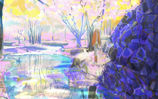 Anime To Your Eternity Mia Fushi HD Wallpaper | Background Image