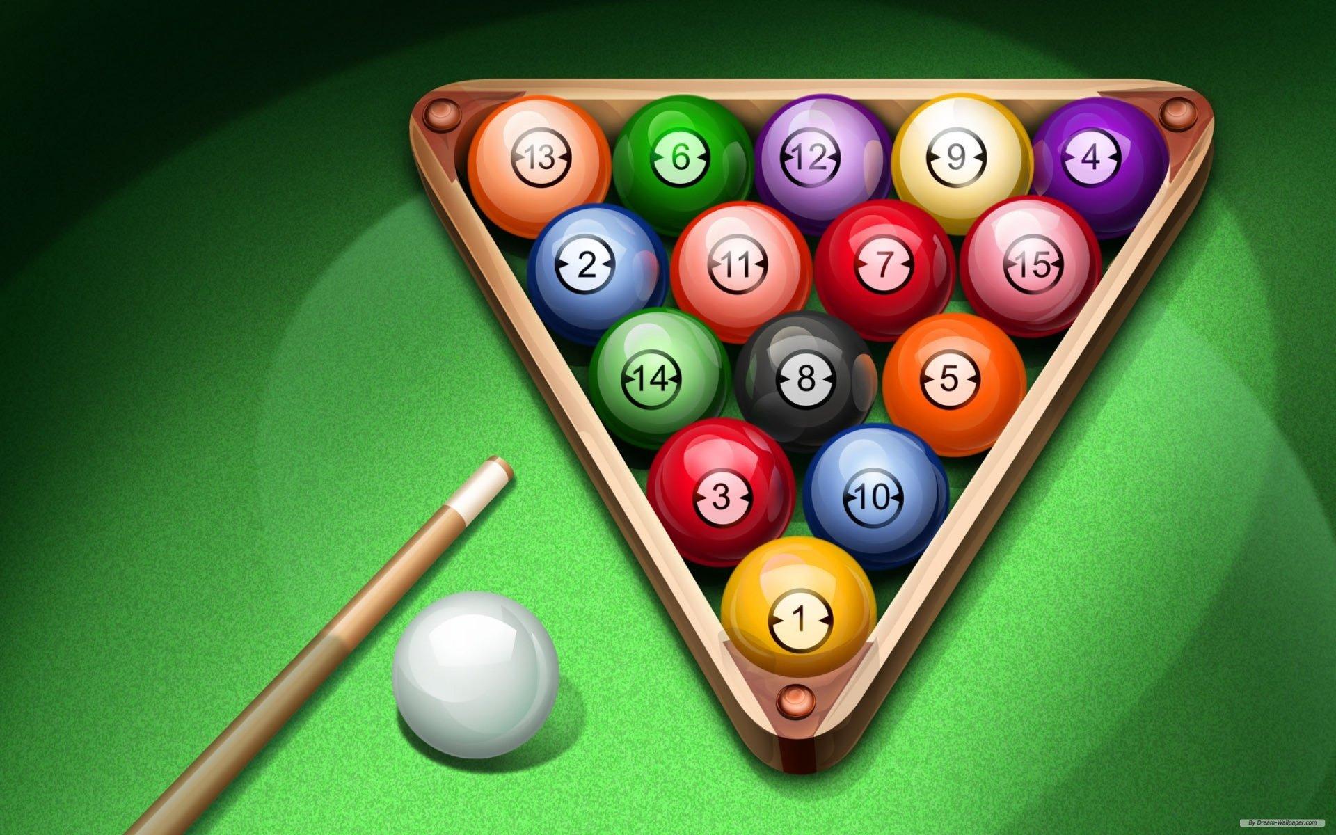 Game - Pool  Wallpaper