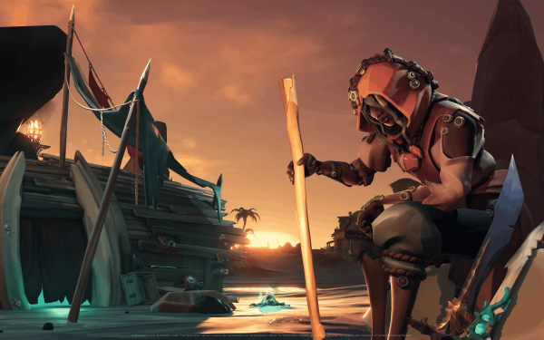 Video Game Sea Of Thieves Sea of Thieves: A Pirate's Life HD Wallpaper   Background Image