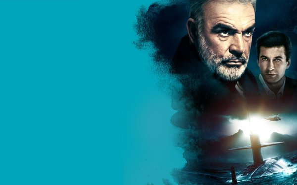 Movie The Hunt for Red October Sean Connery Marko Ramius Alec Baldwin Jack Ryan HD Wallpaper | Background Image