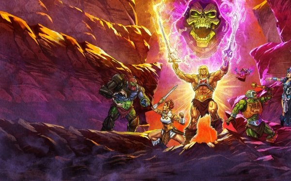 TV Show Masters of the Universe: Revelation He-Man Skeletor HD Wallpaper | Background Image