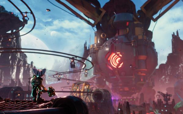 Video Game Ratchet & Clank: Rift Apart Ratchet & Clank Rivet Clank HD Wallpaper | Background Image