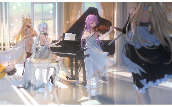 Anime Azur Lane Illustrious Formidable Unicorn Victorious HD Wallpaper | Background Image