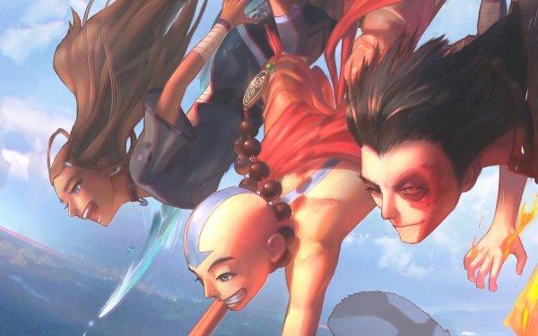 Anime Avatar: The Last Airbender Avatar (Anime) Aang Zuko Katara HD Wallpaper | Background Image