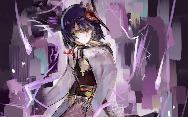 Video Game Genshin Impact Kujou Sara HD Wallpaper   Background Image
