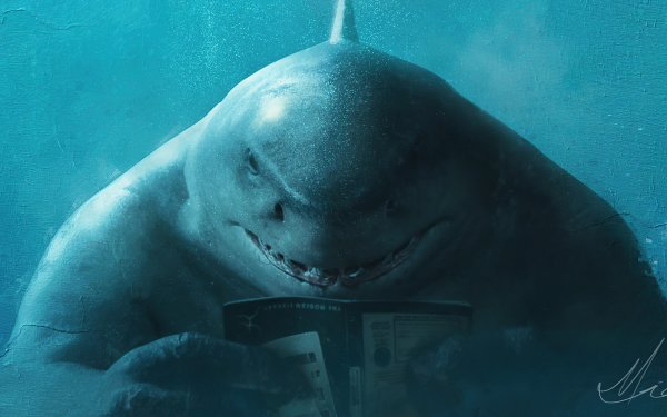 Movie The Suicide Squad King Shark DC Comics HD Wallpaper | Background Image