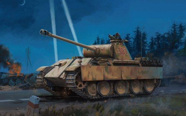 Military Panther Tank Tanks Tank Wehrmacht HD Wallpaper   Background Image