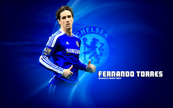 Sports Fernando Torres Soccer Player Chelsea F.C. HD Wallpaper   Background Image