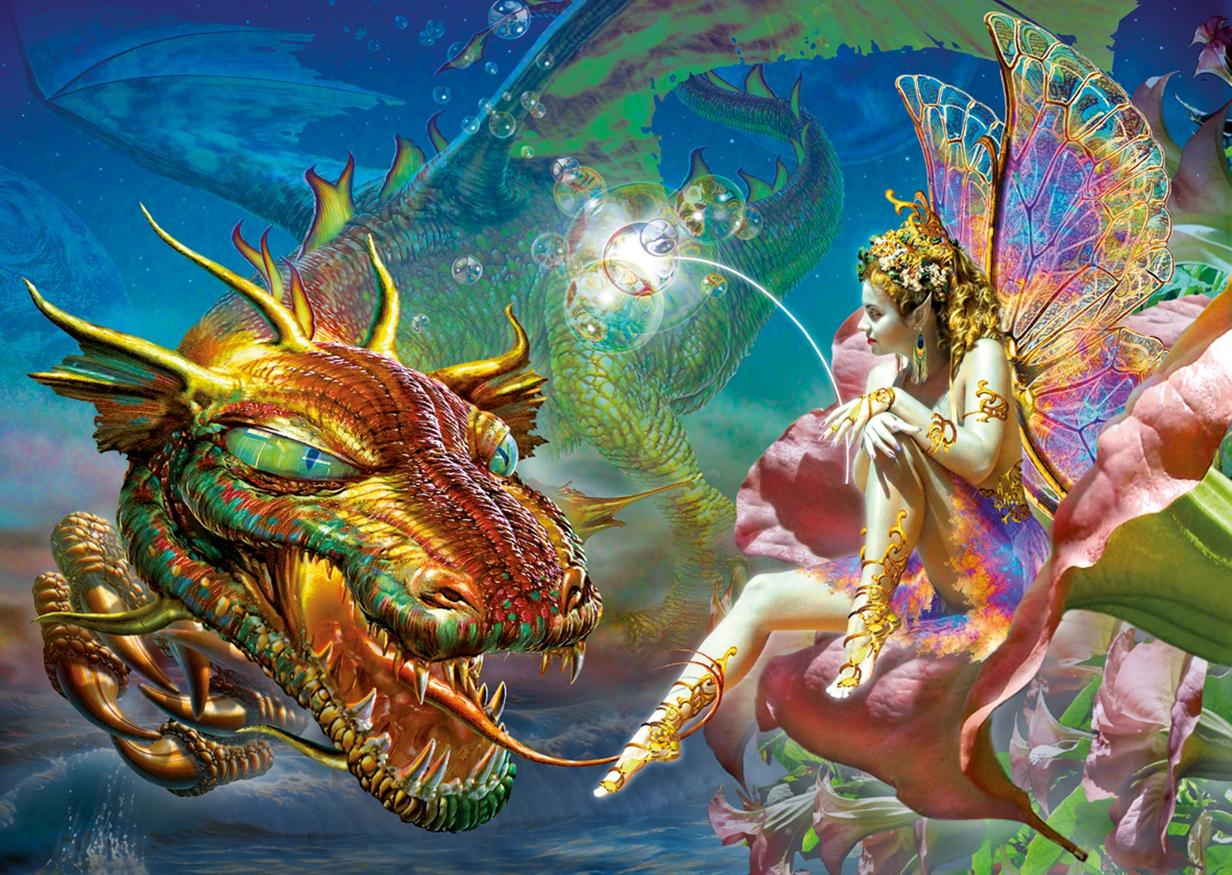 Fairy wallpaper and background image 1772x1259 id 117261 wallpaper abyss - Image de dragon ...