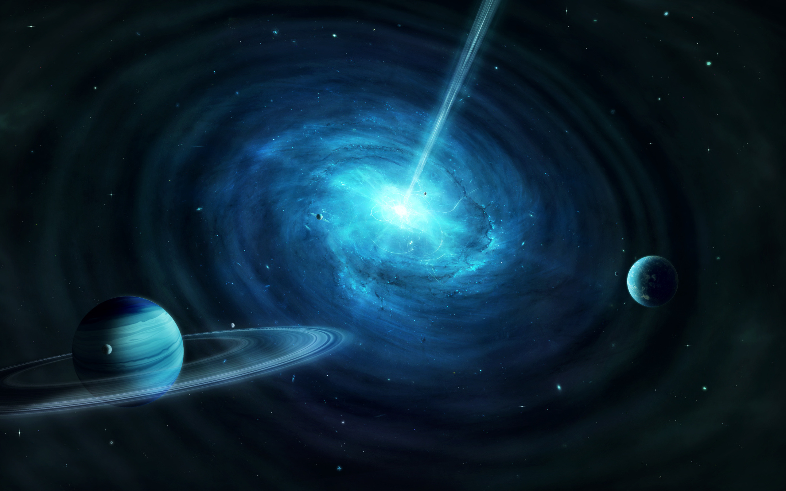 quasar wallpaper