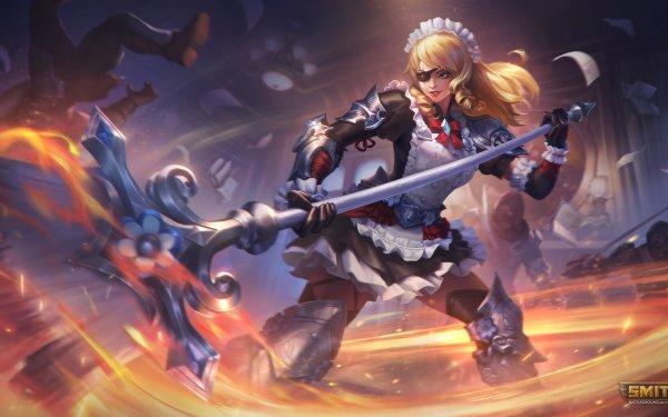 Video Game Smite Bellona HD Wallpaper   Background Image