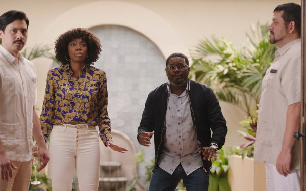 Movie Vacation Friends Lil Rel Howery Yvonne Orji HD Wallpaper | Background Image