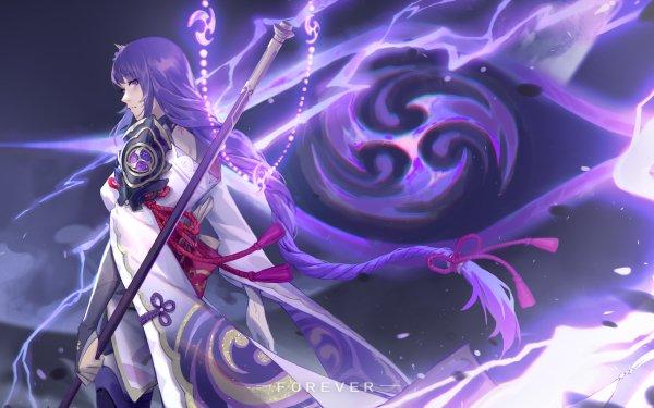 Video Game Genshin Impact Baal Raiden Shogun HD Wallpaper | Background Image