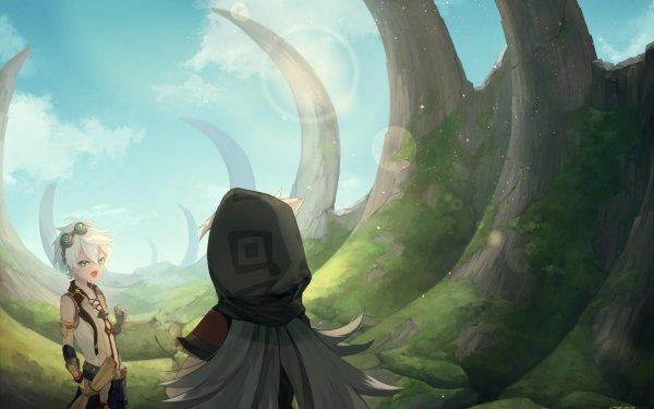 Video Game Genshin Impact Bennett Razor HD Wallpaper | Background Image