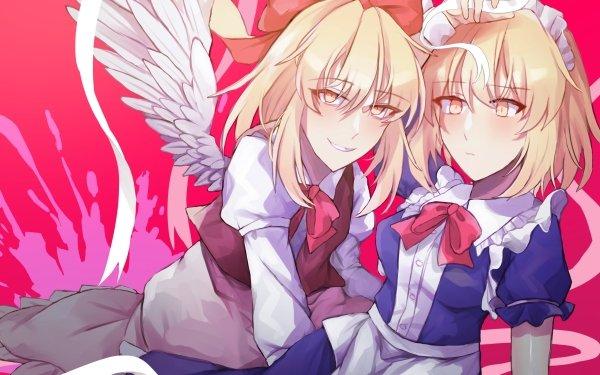 Anime Touhou Mugetsu Gengetsu HD Wallpaper | Background Image