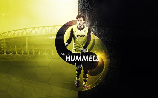 Sports Mats Hummels Soccer Player Borussia Dortmund HD Wallpaper | Background Image