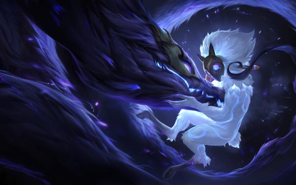 Video Game Legends of Runeterra Kindred HD Wallpaper   Background Image
