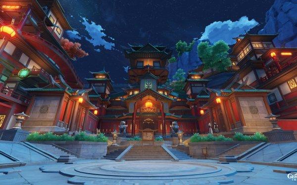 Video Game Genshin Impact Liyue HD Wallpaper | Background Image