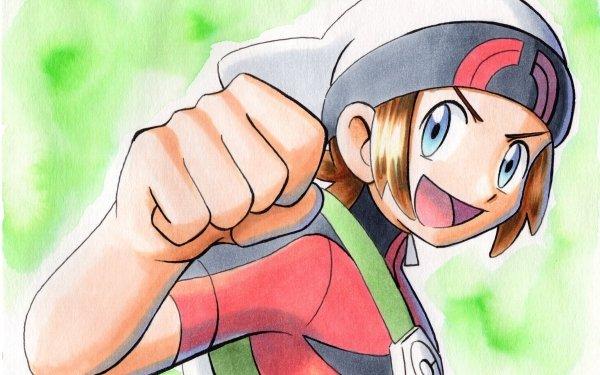 Videojuego Pokémon: Rubí Omega y Zafiro Alfa Pokémon Brendan Fondo de pantalla HD   Fondo de Escritorio