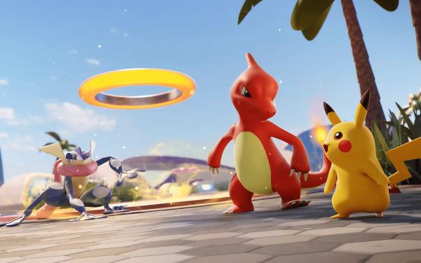 Video Game Pokémon UNITE Pokémon Pikachu HD Wallpaper   Background Image