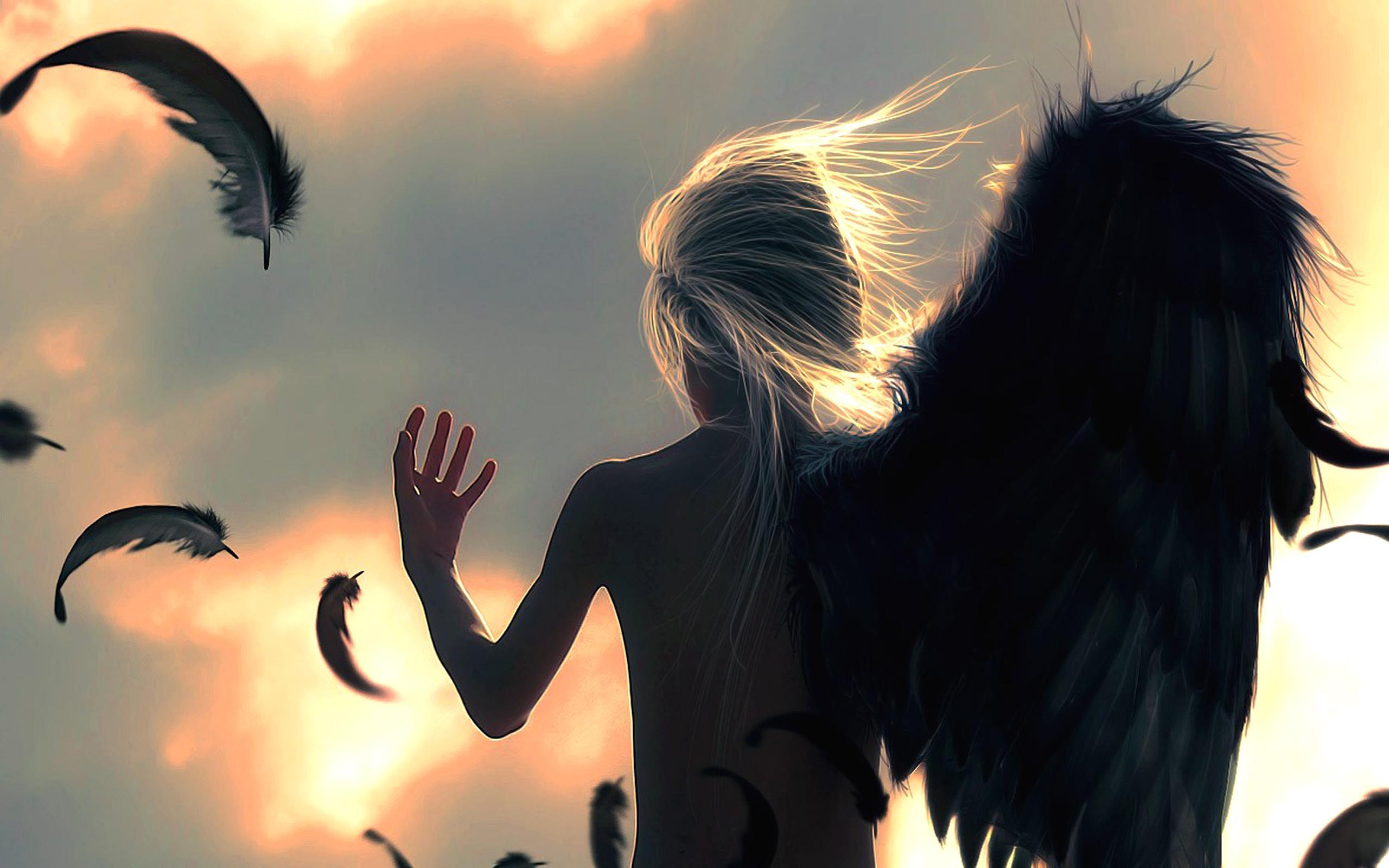 Фэнтези - Ангел  Обои