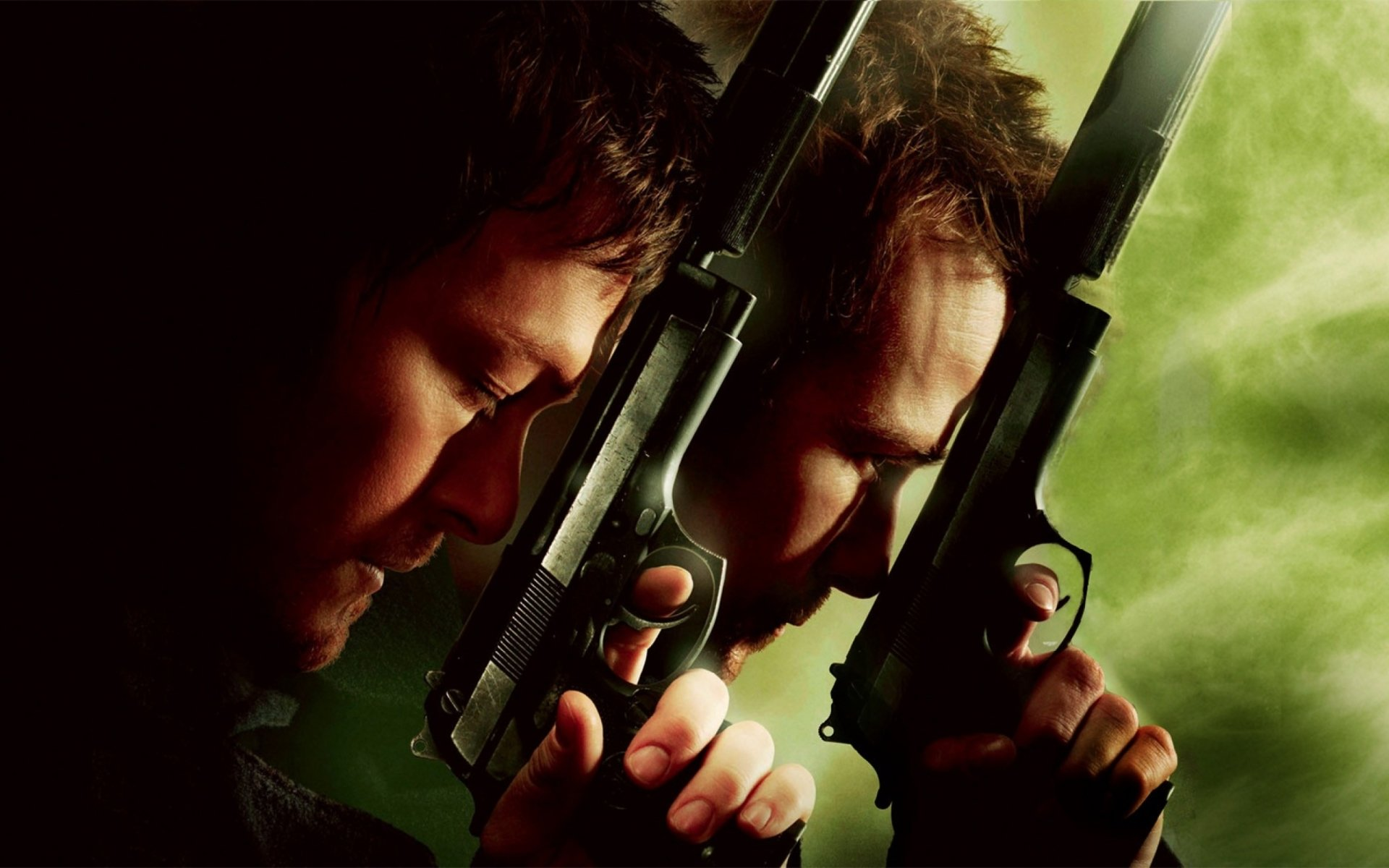 Movie - The Boondock Saints II: All Saints Day  Norman Reedus Sean Patrick Flanery Wallpaper