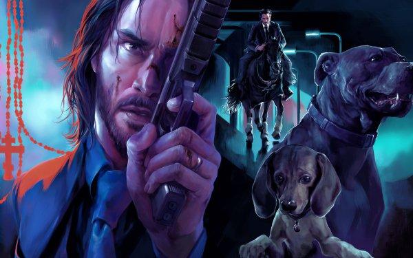 Movie John Wick: Chapter 3 – Parabellum John Wick Keanu Reeves HD Wallpaper   Background Image