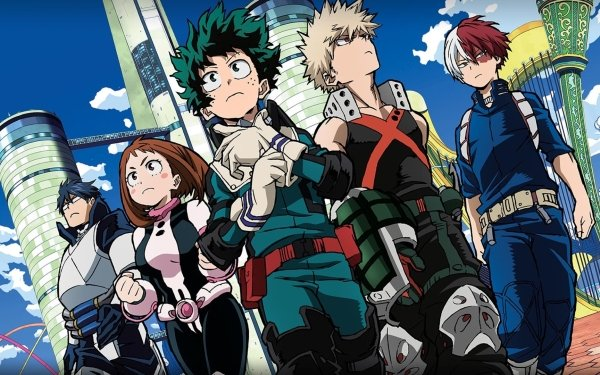 Anime My Hero Academia: Two Heroes My Hero Academia HD Wallpaper | Background Image