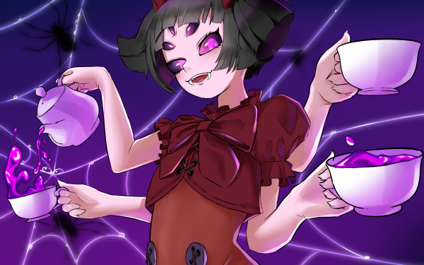 Video Game Undertale Muffet HD Wallpaper   Background Image