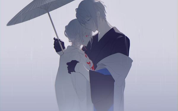Anime Touken Ranbu Saniwa Yamanbagiri Chougi Love HD Wallpaper   Background Image