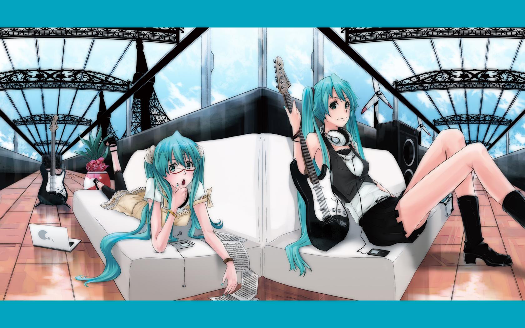 Anime - Vocaloid  Hatsune Miku Wallpaper