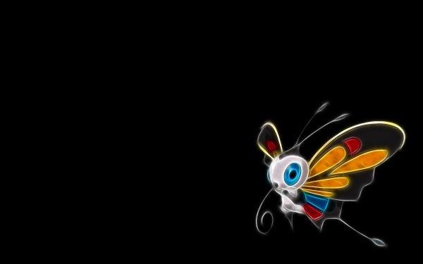 Anime Pokémon Beautifly Bug Pokemon Flying Pokémon HD Wallpaper | Background Image