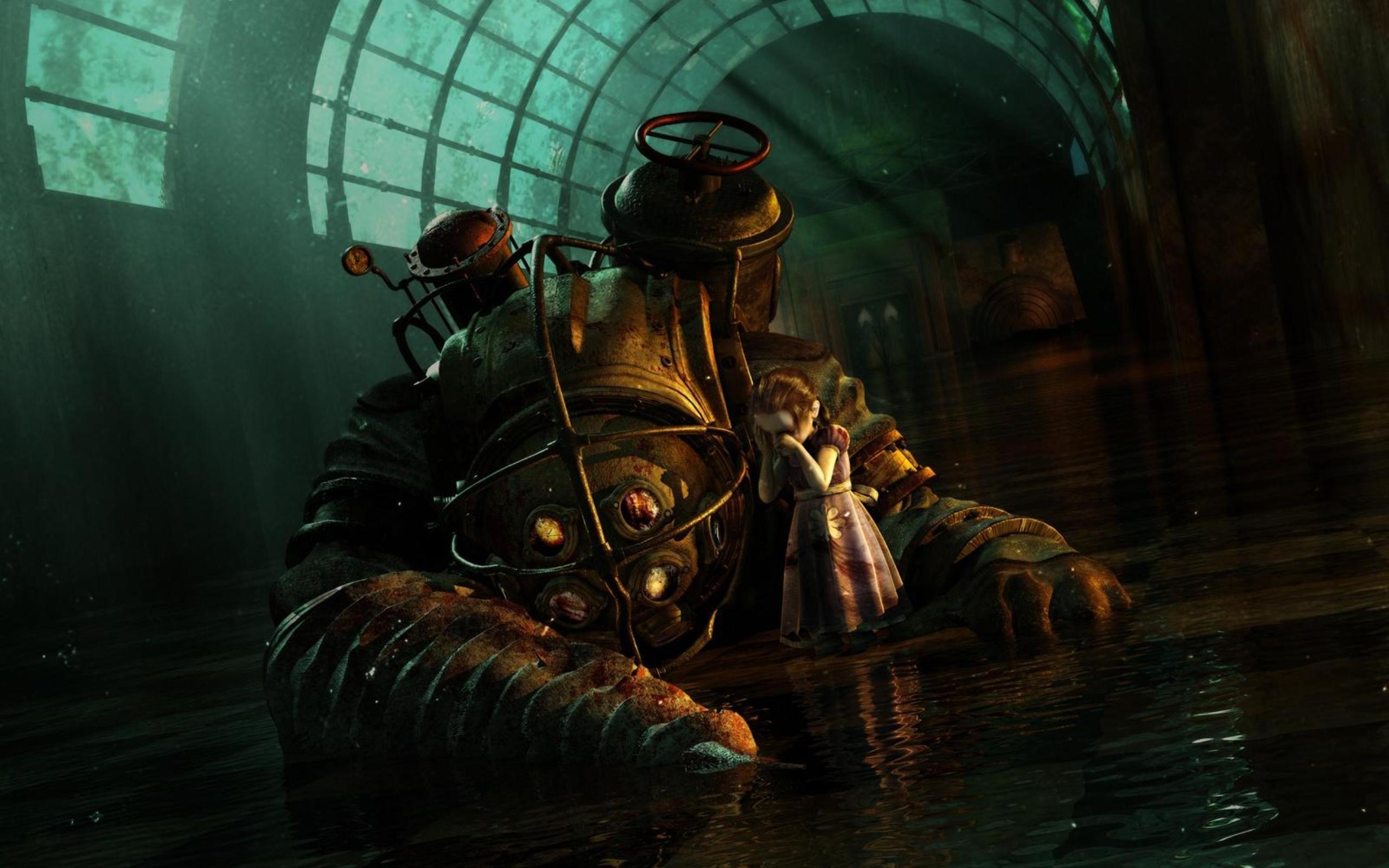 video game bioshock wallpaper