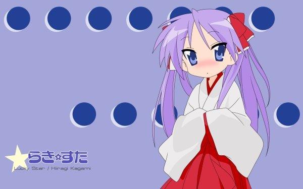 Anime Lucky Star Kagami Hiiragi HD Wallpaper | Background Image