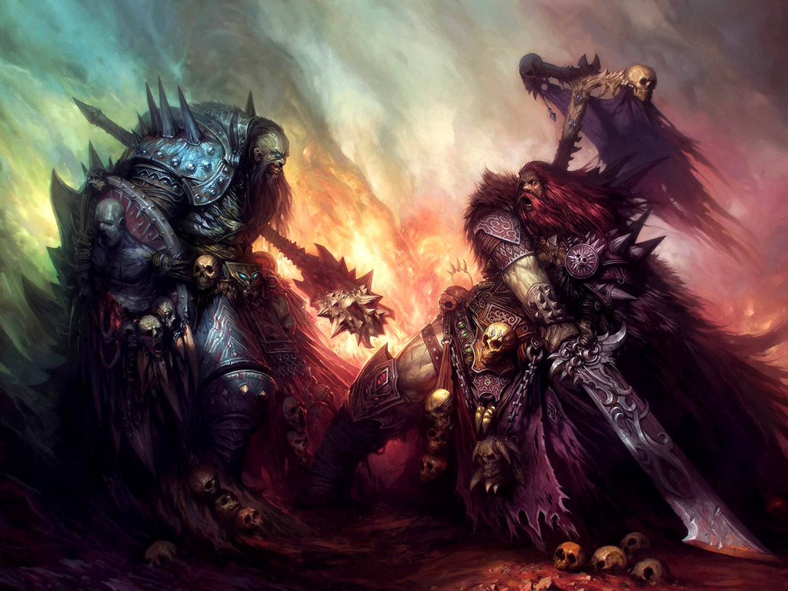 Chaos Wastes Wallpaper and Background Image | 1600x1200 ...